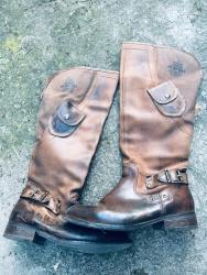Od-teksasa - Srbija: Od prave kože inostrane cizme