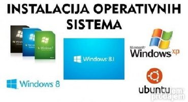 Instalacija windows sistema na desktop laptop po zelji 7 8 10 xp i 32 - Kikinda