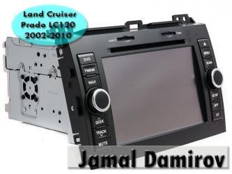 Bakı şəhərində Land cruiser prado lc120  2002-2010 dvd-monitor