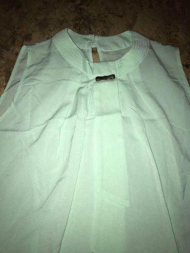 Отличная блузка на лето, б/у, состояние отличное, размер М в Бишкек