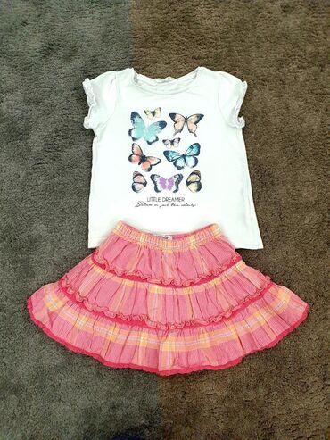 Ostala dečija odeća | Crvenka: Komplet Osh Kosh i H&M za devojčice vel 3. Bez ikakvih oštećenja