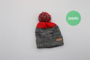 Дитяча стильна зимова шапка с помпоном Carters, вік 2-4 р.    Довжина