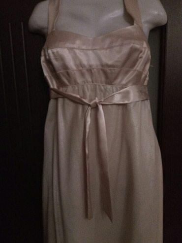 Bakı şəhərində Платье от NEXT Бежевый цвет на шелковой подкладке Размер 12