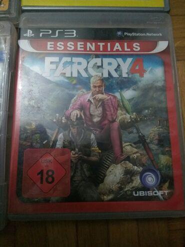 Igra Far Cry za sony 3. NOVO-nekorisceno! Vidi se sve na slikama. Ako