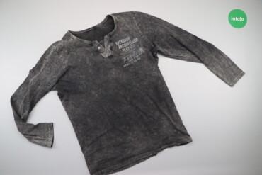 Мужская одежда - Украина: Чоловічий лонгслів в потертий принт Glo-Story, р. М    Довжина: 73 см