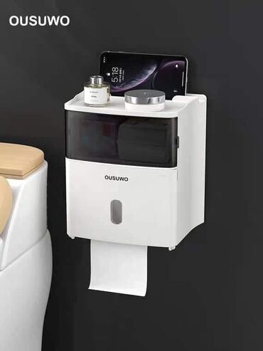 Kuća i bašta - Velika Plana: Drzac toalet papiraLako se pricvrscuje za plocice u kupatilu bez