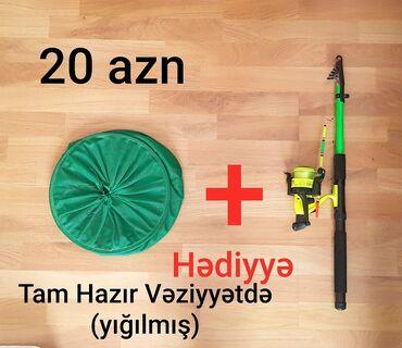 balıq ovu - Azərbaycan: Tam Hazır Veziyyətdə Tilov. Dənizdə, Göldə, Kanalda (Kefal, Vobla