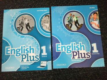 Knjige, časopisi, CD i DVD | Vrsac: English Plus 1, komplet NOVO za engleski jezikNamenjeno za: 5