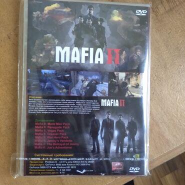 Видеоигры и приставки - Кыргызстан: Продаётся диск для компа  •mafia ii  •новый, 1раз использована  (может