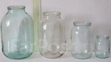 Кухонные принадлежности в Токмак: Продам банки стеклянные. 3л, 2л, 1л