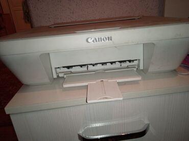 сканер canon в Кыргызстан: ПРИнТЕР цветной 3 В1 сканер, ксерокопия, в рабочем состоянии CANON