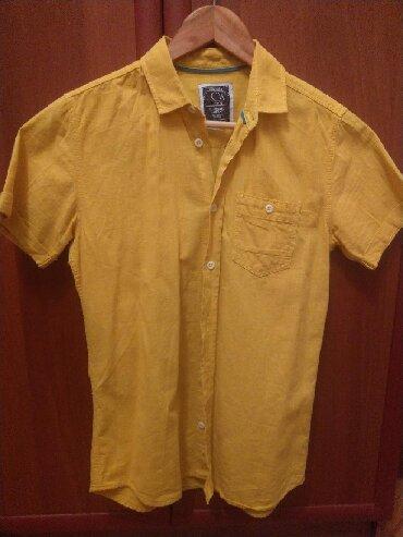 Тениска на 11-12 лет фирмы lcwaikiki. Новая. Материал лён