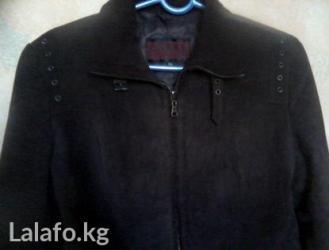 Замшевая курточка. темно-коричневый цвет. размер 46 - 48 в Бишкек