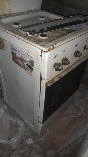 Газовая бу плита с духовкой. Рабочая. Не дорого
