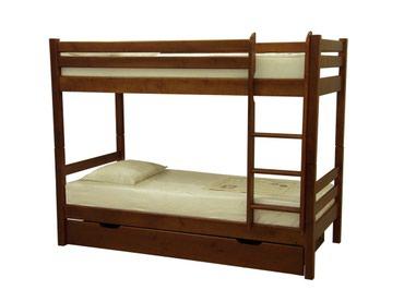 Б/У Деревянная двухъярусная кровать, в Бишкек