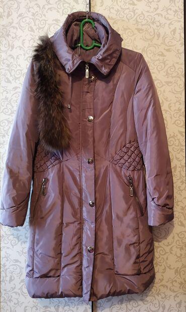 Куртки - Лебединовка: Куртка-пальто в отличном состоянии 46-48 размер. 1200 сом.Находится в