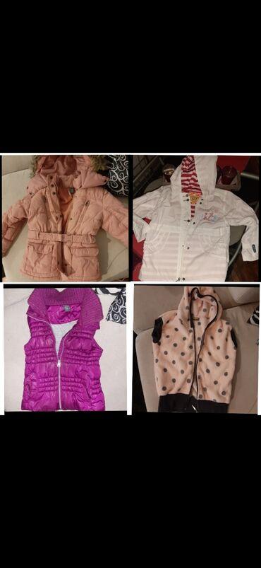 Prsluk zimski na - Srbija: Prva roza zimska jakna 4-5 velicina,bela jakna 6,rozi prsluk 4-5, i pr