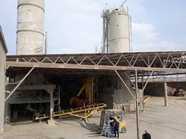 •Sement istehsali zavodu. Umumi sahesi 48 sot. Iki mertebeli inzibati