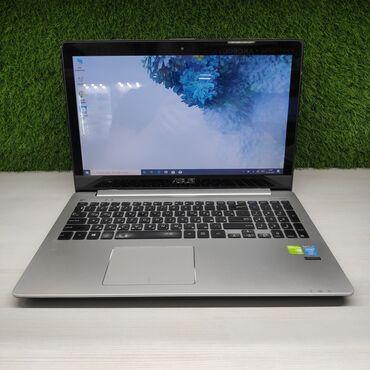ноутбук сенсорный в Кыргызстан: Мощный ноутбук Asus V551lОтлично подойдёт для игр, учебы, работы