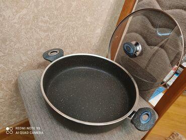 granite tava - Azərbaycan: Şook endirim❗ Tələsin ❗Türkiyə istehsalıİki qulplu tava 📌 Qalınlığı 4