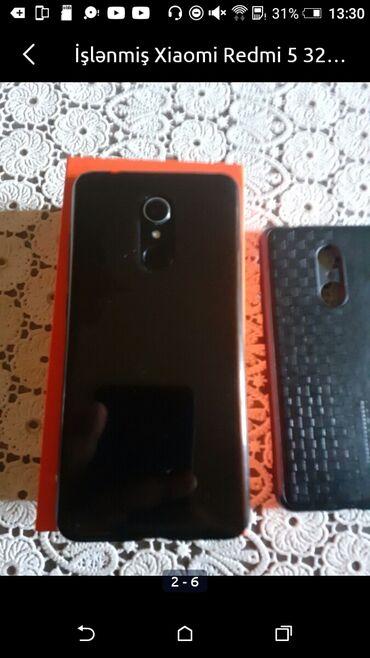 5 barmaq - Azərbaycan: İşlənmiş Xiaomi Redmi 5 32 GB qara