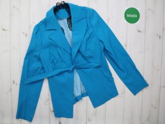 Женский оригинальный пиджак с кружевом    Длина: 59 см Плечи: 35 см Ру