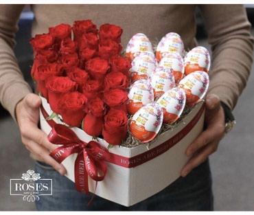 14fevral 14 fevral Hediyye qizilgul roza gul 8mart в Bakı