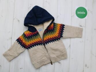 Кофта теплая на вовне для малыша Mayoral,9 месяцев( 74 см)    Длина: 3