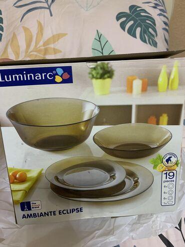 Посуда от luminarc . новая . 19 приборов