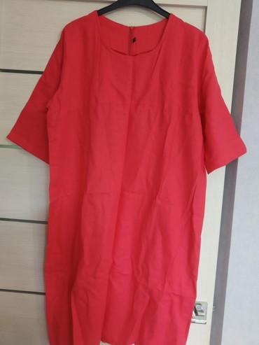 Платья лен, размер 50, 52
