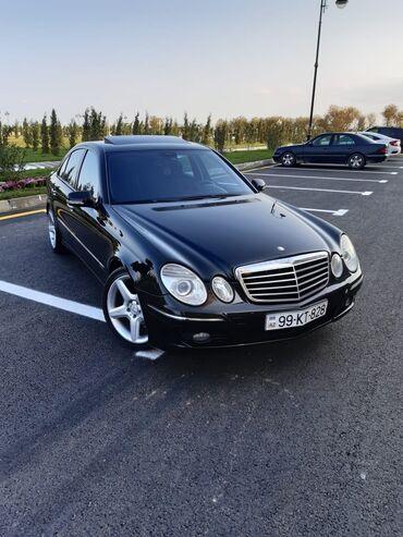 Mercedes-Benz Sumqayıtda: Mercedes-Benz E 200 2 l. 2008 | 215554 km