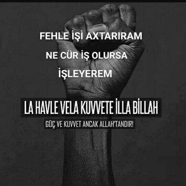 Bakı şəhərində HER CÜR FEHLE İŞİ İŞLEYEREM RAZILAŞMA YOLUYNAN..