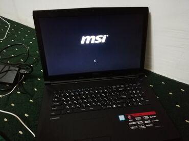 Электроника - Баткен: Nоутбук игровой msi gl72 6qd процессор i5-6300hq 2.30ghz озу 8гб