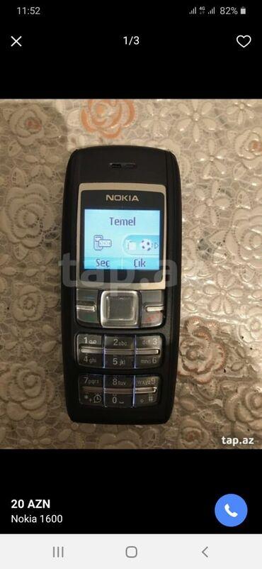 Nokia 1600antikvar telefonduyaxwi veziyyetdedi,möhkem