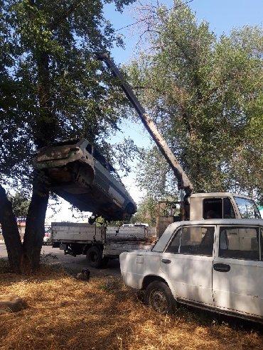 Эвакуатор кран манипулятор - Кыргызстан: Услуга кран кран манупулятора кран сам гружу сам важу кран 3тон борт