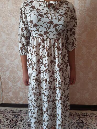 Женская одежда - Кок-Джар: Лёгкое платье размер свободный до 50