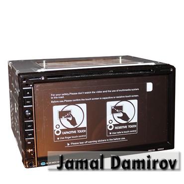 weier monitor - Azərbaycan: 2-din universal DVD-monitor A02.  Универсальный DVD-монитор 2-din A02