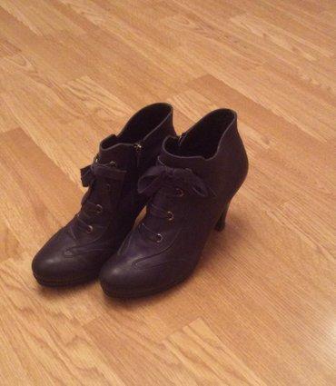 Bakı şəhərində Кожаные ботинки. В отличном состоянии. Размер 40