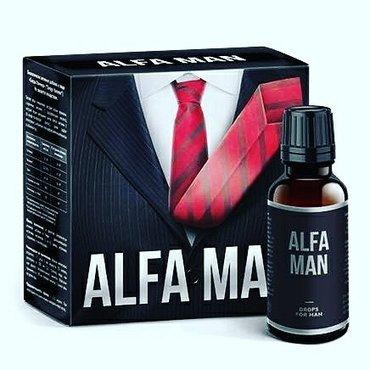 Alfa Man (Альфа Мэн)– уникальное средство для потенции и каменной эре в Бишкек