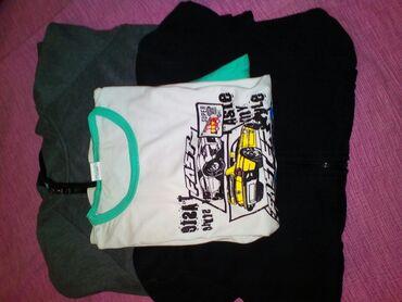 Pizama - Srbija: Paket garderobe, pizama br.12 ( obucena samo jednom), dve dukserice na