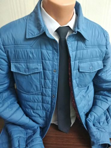 Отличная мужская куртка! Весна-осень! Размер 50-52 Состояние новое! в Бишкек