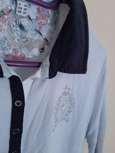 Peter Hahn polo zenska majica sa vezom. Vel 46 prelepa i kvalitetna
