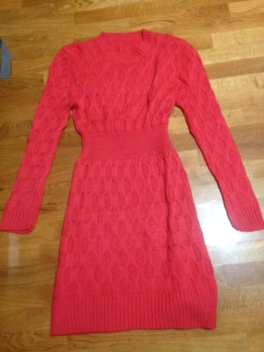 Koralno crvena haljina univer velicina, nova lepo stoji cena samo 1400 - Indija