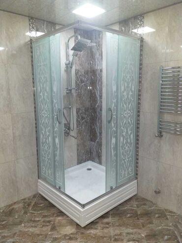 hamam - Azərbaycan: Duş kabin arakəsmə şüşələr 🛠 polkalar moydadirlar cam balkonlar