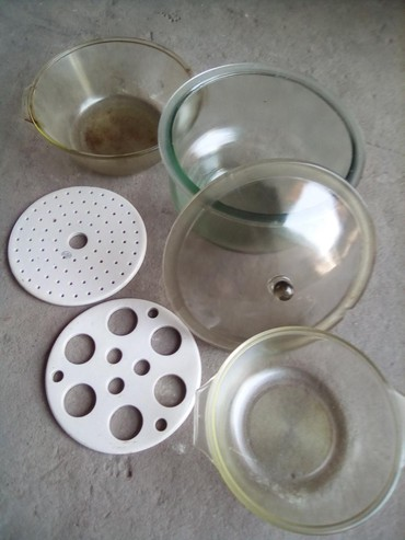 Кухонные принадлежности в Кок-Ой: В остатке только керамическиекруги (белым цветом).И 3 шт крышки