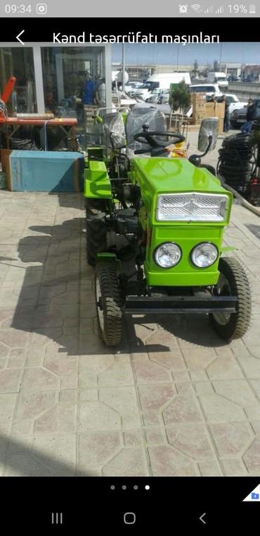 Gence traktor satisi - Azərbaycan: Mini traktor kreditle satişitek vesiqe ile 1 illik zemanet 1500 m ilk