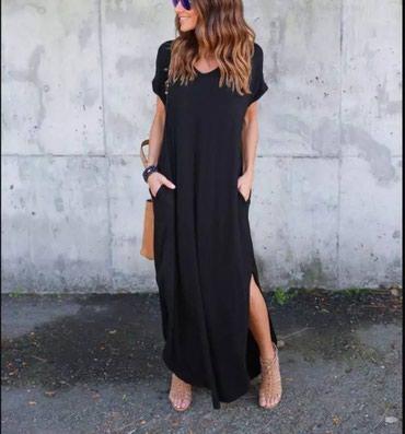 Duge pamucne haljine sa dzepovima NOVO! - Pirot