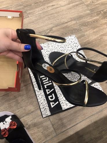 Crne Zenske sandale 39 broj kupljene u Americi NOVE - Crvenka