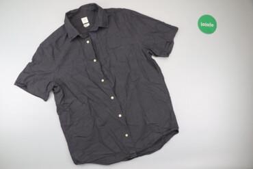 Чоловіча сорочка з коротким рукавом H&M, M    Довжина: 76 см Напів