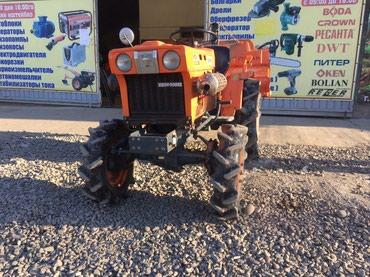Трактора б у - Кыргызстан: Трактор !!! Трактор !!!Трактор !!! Мини трактор KUBOTA 14 Hp (л.с.)